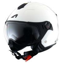 Astone - Casque Minijet Sport Blanc