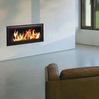 Termofoc - Insert à bois modèle c1000 + kit de ventilation pour insert c1000