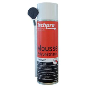 techpro mousse polyurethane aerosol type standard. Black Bedroom Furniture Sets. Home Design Ideas