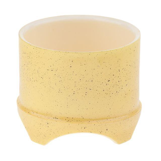 Plastique reptile lézard gecko vivarium alimentation nourriture plat biberon jaune
