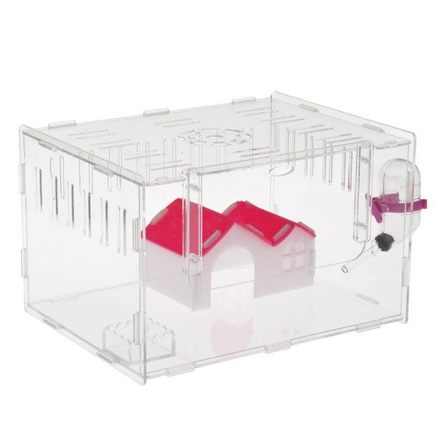 Cage de maison de hamster pour animaux de compagnie