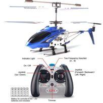 Télécommande Alliage Bu 3ch Hélicoptère Avec Jouet Radio Copter Gyroscope WH9YD2EI