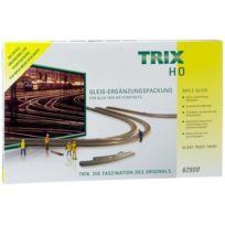 Trix H0 - Grand Set De ComplÉMENT Voie C, Voie H0