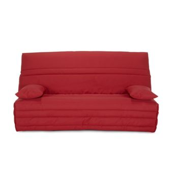 Alinea Haiti Housse Pour Clic Clac 130cm Rouge Pas Cher Achat Vente Housses Canapes Chaises Rueducommerce
