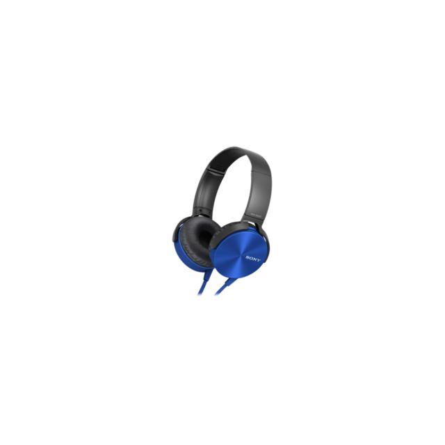 Sony Mdr Xb450ap Pas Cher Achat Vente Casque Rueducommerce