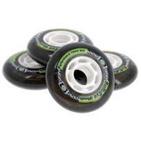 Hyper - Roues de roller Bullzeye 76mm/82a pack4 Noir 90052