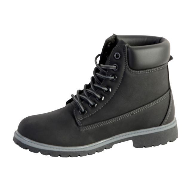 Fila - Chaussure Maverick Mid Wmn Black Black - pas cher Achat   Vente  Boots femme - RueDuCommerce 2dff114e86ae