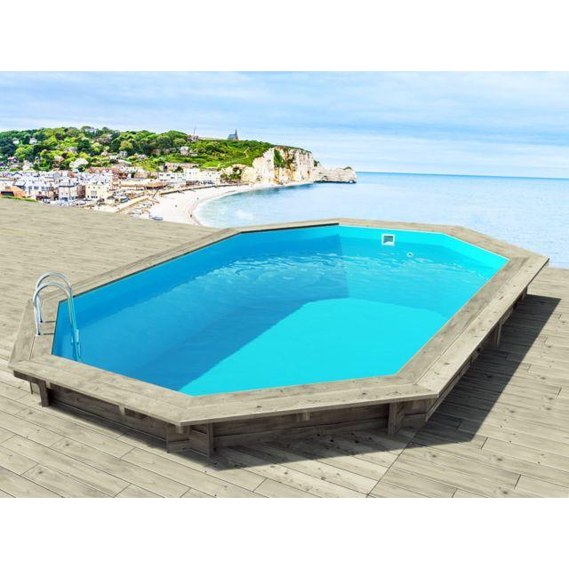habitat et jardin piscine bois brazilia x x 1. Black Bedroom Furniture Sets. Home Design Ideas
