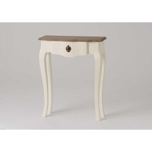amadeus console galb e 60 cm c lestine pas cher achat. Black Bedroom Furniture Sets. Home Design Ideas
