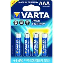 VARTA - lot de 4 piles type lr3 1.5 volts - 4903/414