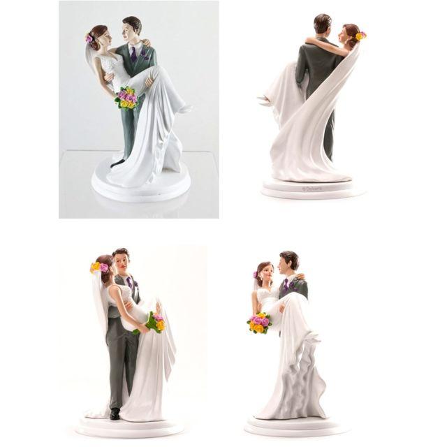 Figurine Couple Mariee Dans Les Bras Decoration Gateau Mariage 835