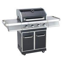 LE BARBECUE - Barbecue à gaz sur chariot - Surface de cuisson : 68 x 43,9 cm - 12 couverts