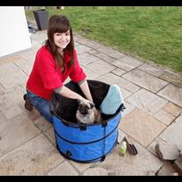 Flamingo - Baignoire pour chien Doggie Shower Karlie Petit modèle