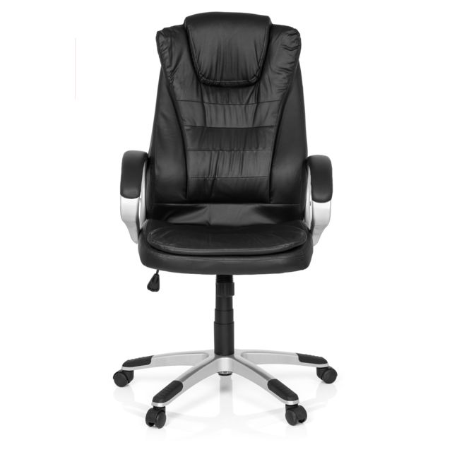 Hjh Office Fauteuil de direction Relax Wb100 simili cuir noir