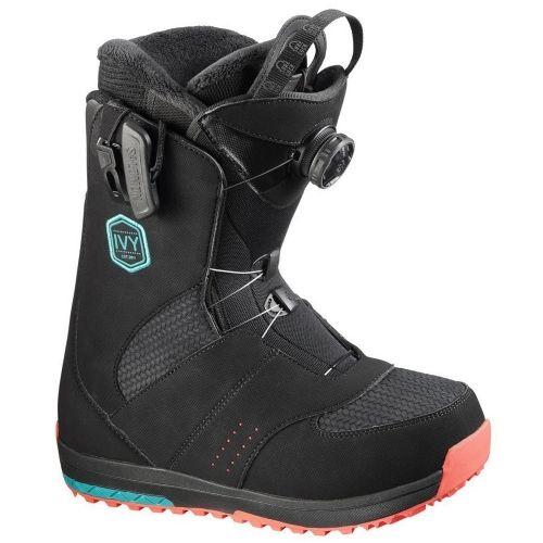 Details about Salomon Womens Snowboard Boots Ivy Boa Str8jkt 2017