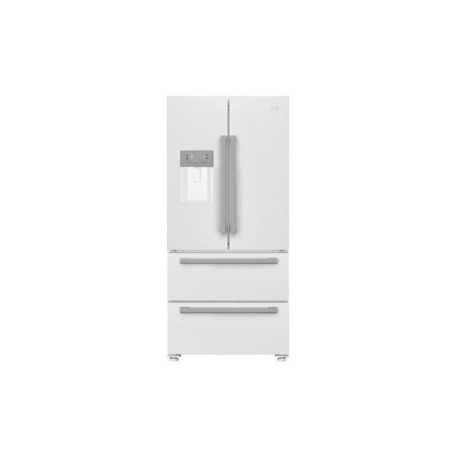 beko gne530dw refrigerateur multiportes 530 l 378 152 l froid ventile no frost a l. Black Bedroom Furniture Sets. Home Design Ideas