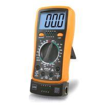Pyle - Multimètre numérique rétroéclairé Lcd