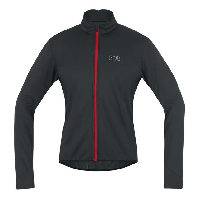 Wear blanc Windstopper 0 Softshell Veste Bike M 2 Power Gore noir zy47EAqA