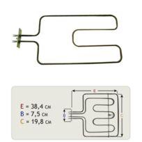 Domeos - Resistance sole 1100w pour Cv54BE de marque