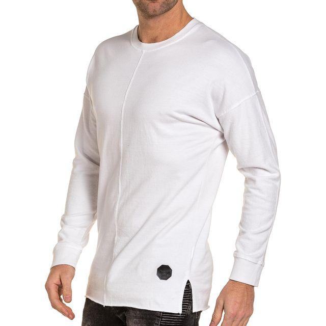 Project X - Sweat homme blanc épais oversize molleton XS S - pas ... ff6999042470