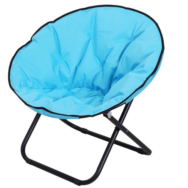 outsunny loveuse fauteuil rond de jardin fauteuil lune. Black Bedroom Furniture Sets. Home Design Ideas