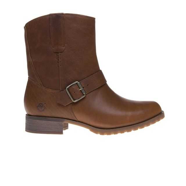 Timberland Bottes Banfield Mid Pull On Brown pas cher