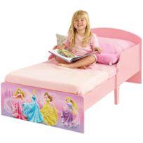 Items France - Lit enfant en bois Disney Princesses