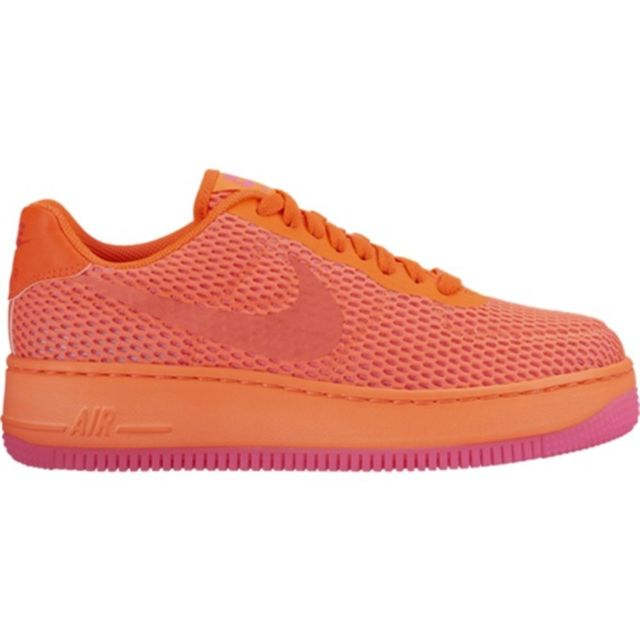 air force 1 femme blanc orange