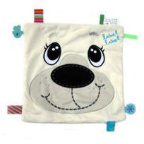 Label-Label - Doudou friends carré ours polaire