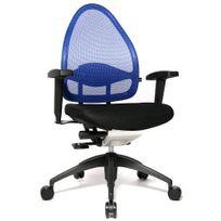 Topstar - Siège de bureau ergonomique Open Base 2010 Edition maille bleu / noir