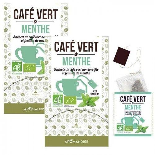 Autre Café vert à la menthe - 40 sachets