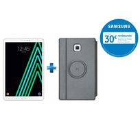 Samsung - Galaxy Tab A6 - SM-T580NZWAXEF - Wifi - Blanc + Housse tablette pour Galaxy Tab A 10,1'' 2016