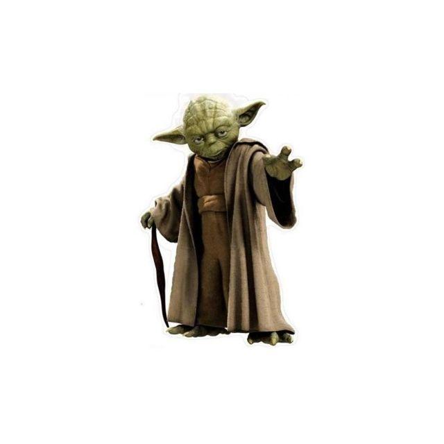 Stars Wars Sticker mural Yoda