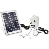 Esotec - Kit eclairage chargeur solaire Multipower 5W