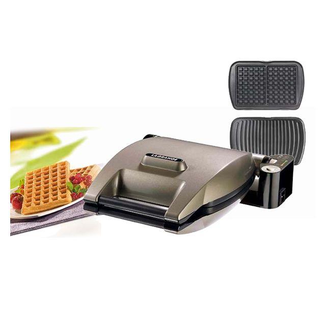LAGRANGE gaufrier + panini 1200w - 019322