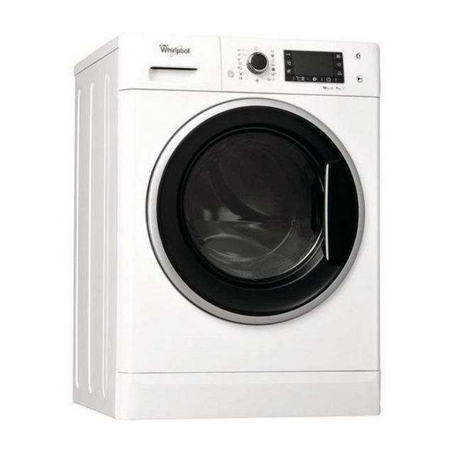 whirlpool lave linge s chant 60cm 10 7kg 1600t a blanc wwdp10716 achat lave linge. Black Bedroom Furniture Sets. Home Design Ideas