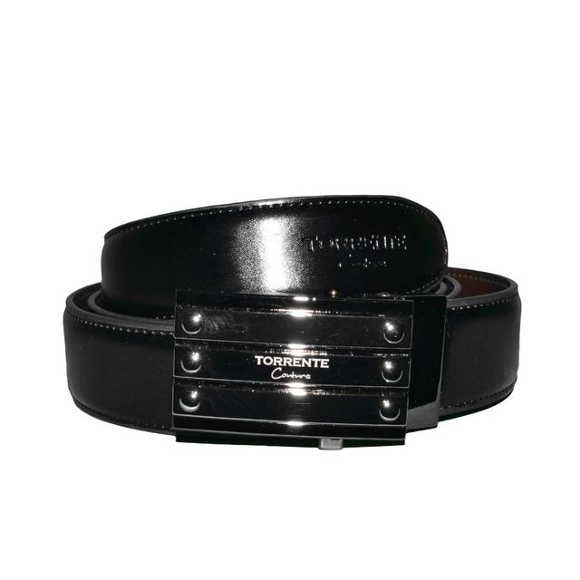 dc6620c21165 Torrente - Torrente Couture - Ceinture - Homme - Belt07 - Noir Marron  Reversible