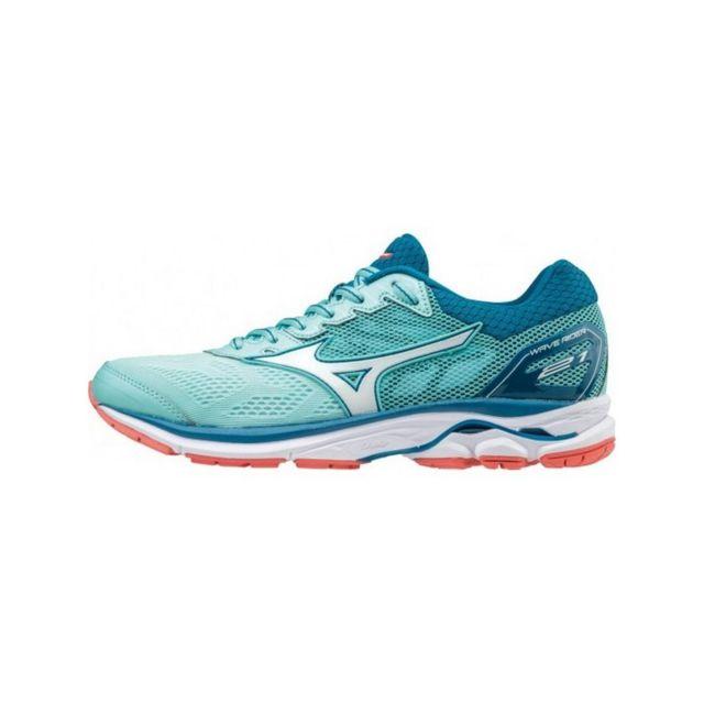 98004f8741d2d Mizuno - Wave Rider 21 femme - pas cher Achat   Vente Chaussures running -  RueDuCommerce