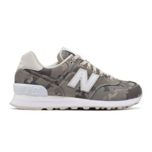soldes new balance baskets 574 classic militaire kaki pas cher achat vente baskets femme. Black Bedroom Furniture Sets. Home Design Ideas