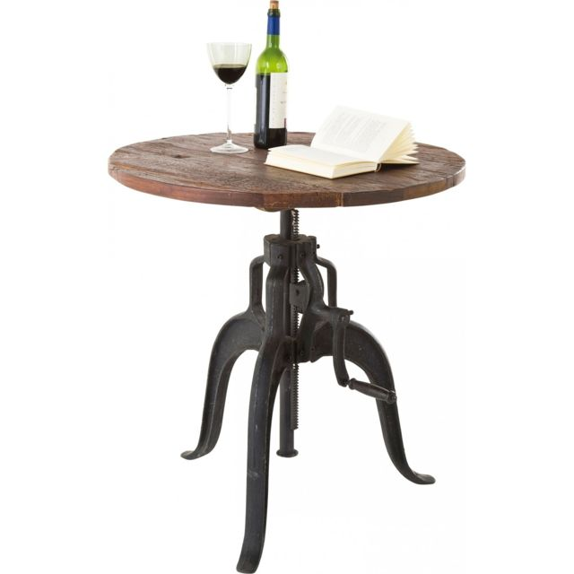 Karedesign Table de Bistrot Railway Kare Design