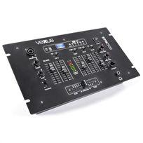 VEXUS - STM2500 Table de mixage 5 canaux Bluetooth USB MP3 EQ Phono