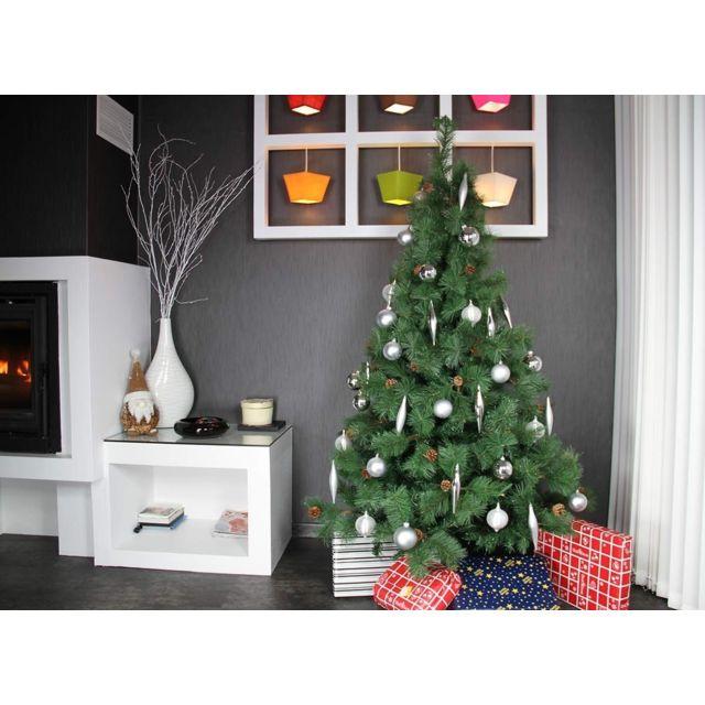 jardideco sapin de noel artificiel ros e du matin 180. Black Bedroom Furniture Sets. Home Design Ideas