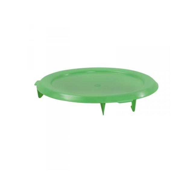 Gilac Couvercle Plat Vert pour Conteneur 75 Litres