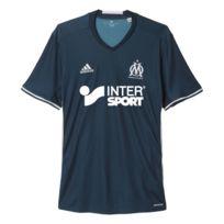 Adidas - Maillot de l'olympique de marseille ext. bleu