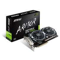 MSI - Carte Graphique GeForce GTX 1080 Ti ARMOR 11GB OC DDDR5X