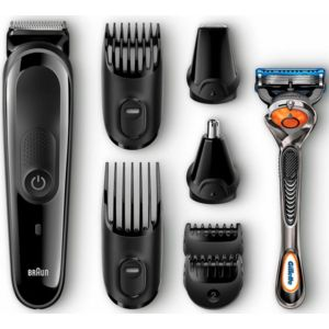 braun kit tondeuse barbe cheveux multigrooming mgk 3060 achat epilation rasage. Black Bedroom Furniture Sets. Home Design Ideas