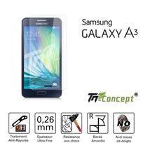 Tm Concept - Samsung Galaxy A3 - Vitre de Protection Crystal