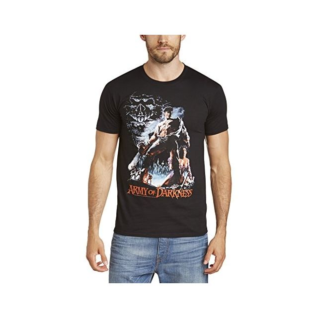 Army Of Darkness Neca T Shirt Imprime Musique Et Film Homme