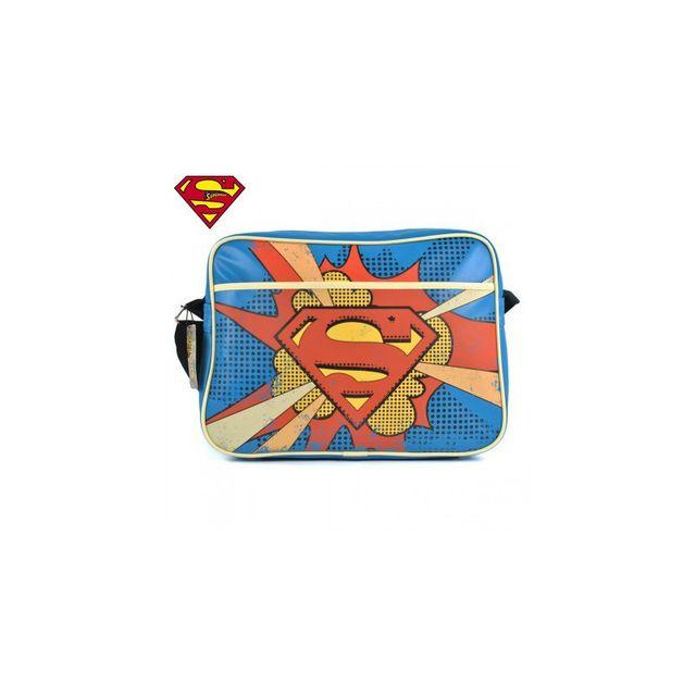 Kas Design Sacoche à Bandoulière Superman Rétro