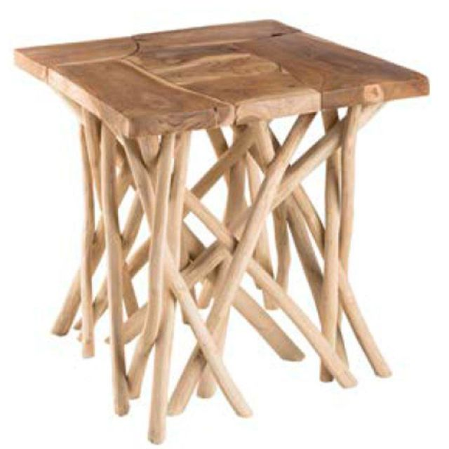 Inside 75 Table basse en bois Clara